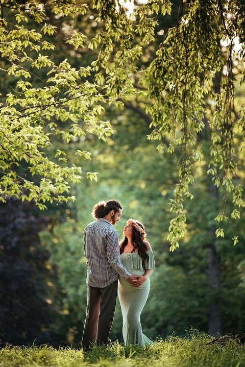 Gorgeous scenery at the NJ Botanical Gardens along with a perfect expecting couple makes for a magical maternity session! It's such an honor to document ...